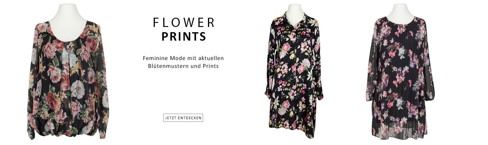 Flower Prints - Damenmode mit aktuellen Blumenprints entdecken