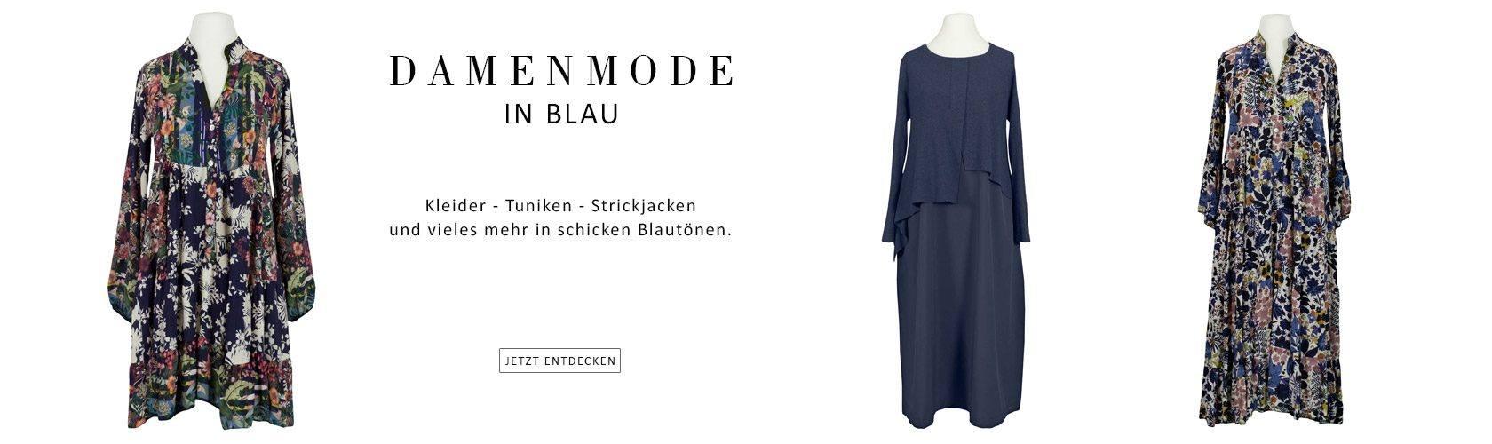 Damen Mode in blau - Jetzt entdecken bei meinkleidchen