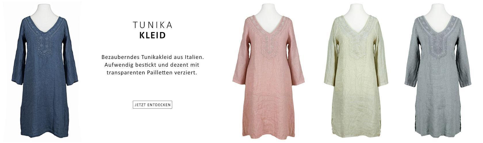 Tunika Kleid aus Italien