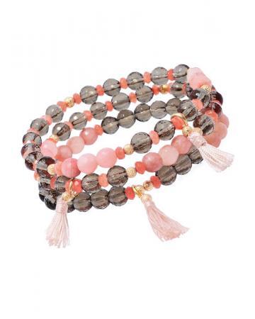 Armband Set Tempo, salmon