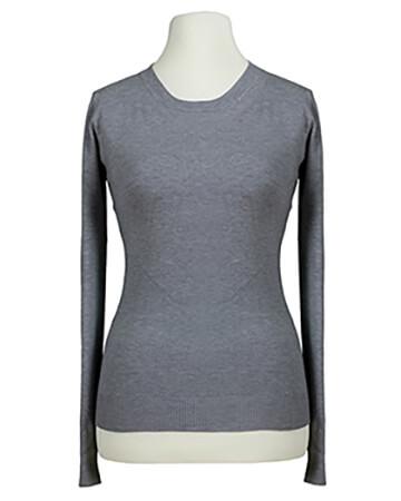 Basic Pullover, grau (Bild 1)