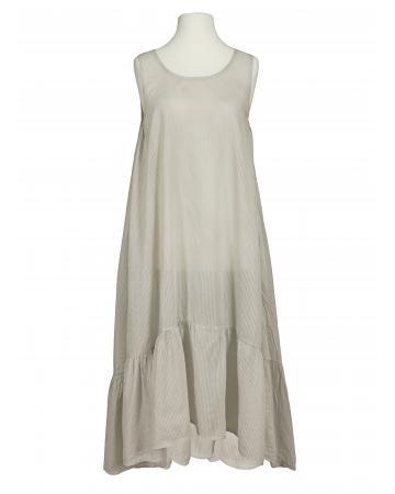 Baumwoll Kleid, beige (Bild 1)