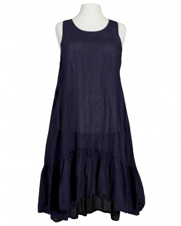 Baumwoll Kleid, blau