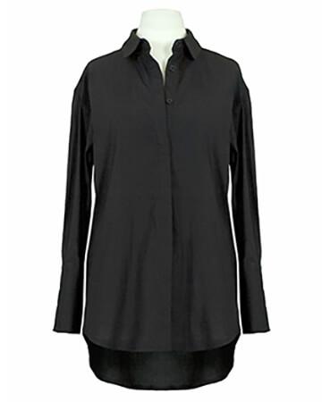 Bluse Baumwolle, schwarz