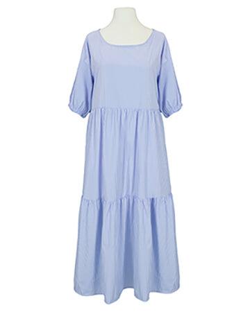 Blusenkleid A-Linie, blau