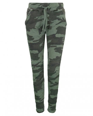 Camouflage Hose, grün