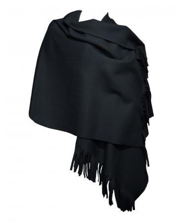 Cape Fleece, schwarz