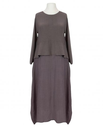 Chasuble Kleid, braun