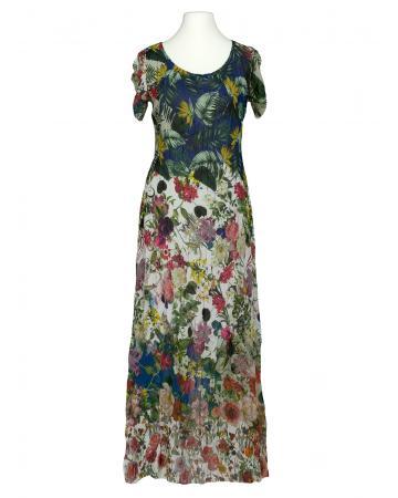 Chiffon Maxi Kleid Floral, multicolor