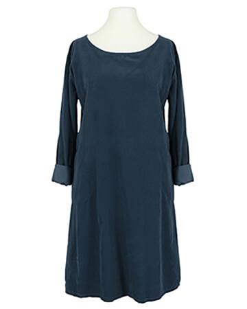 Cordkleid Baumwolle, blau
