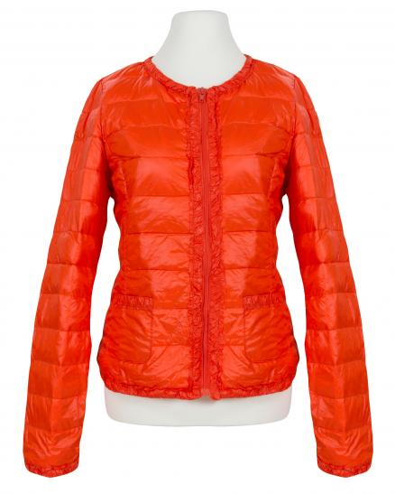 Daunen Steppjacke, orange
