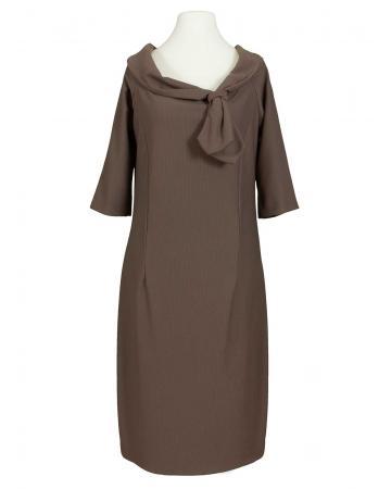Jersey Kleid, braun