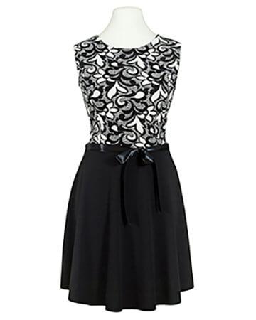 Jersey Kleid, schwarz (Bild 1)