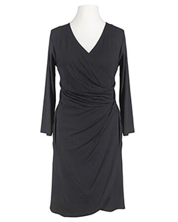 Jerseykleid schwarz langarm