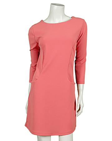 Jersey Tunika Kleid, koralle