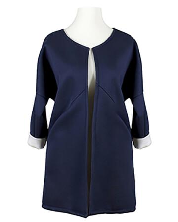 Jerseyjacke, blau (Bild 1)