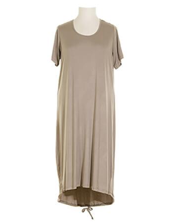 Jerseykleid, beige