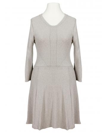 Jerseykleid, beige (Bild 1)