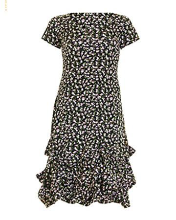 Jersey Kleid Baumwolle, multicolor (Bild 1)