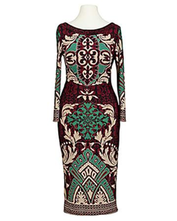 Jerseykleid, multicolor