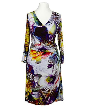 Jerseykleid, print floral (Bild 1)
