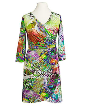 Jerseykleid, print grün (Bild 1)
