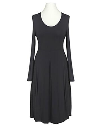Jerseykleid Ballonform, schwarz (Bild 1)
