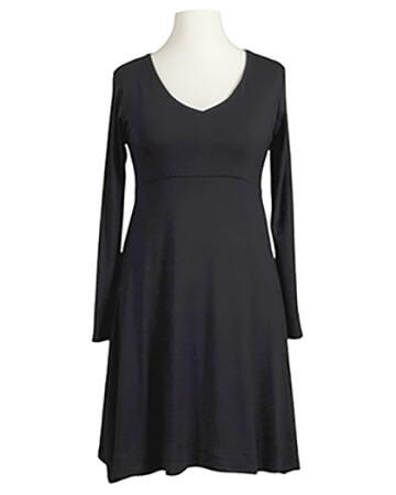Jerseykleid A-Form, schwarz (Bild 1)