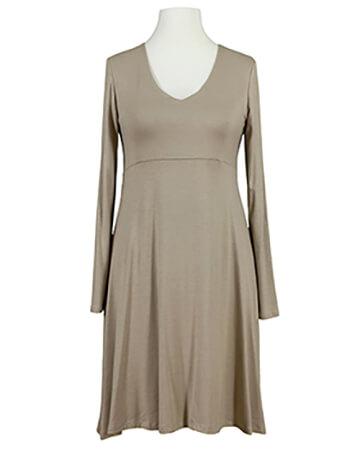 Jerseykleid A-Form, beige (Bild 1)