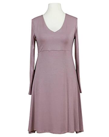 Jerseykleid A-Form, rosa (Bild 1)