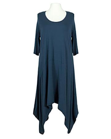 Jerseykleid A-Schnitt, blau
