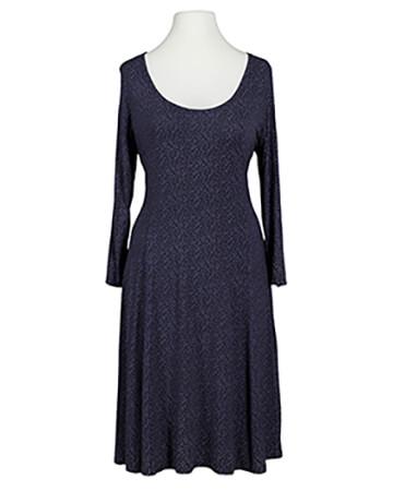 Jerseykleid mit Punkten, blau