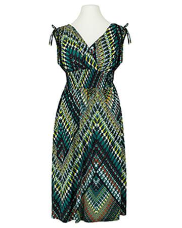 Jerseykleid Print, grün (Bild 1)