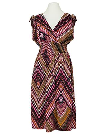 Jerseykleid Print, rosa