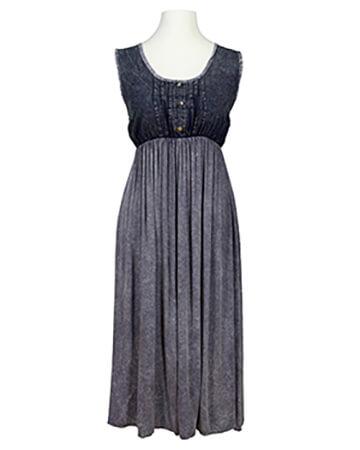 Kleid Jeanslook, blau (Bild 1)