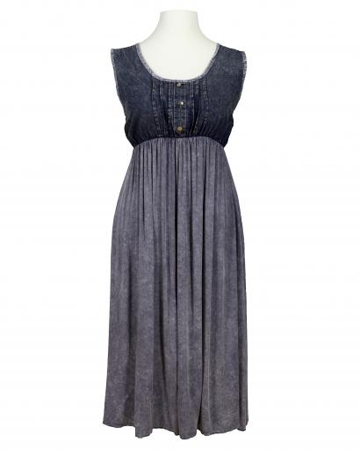 Kleid Jeanslook, blau