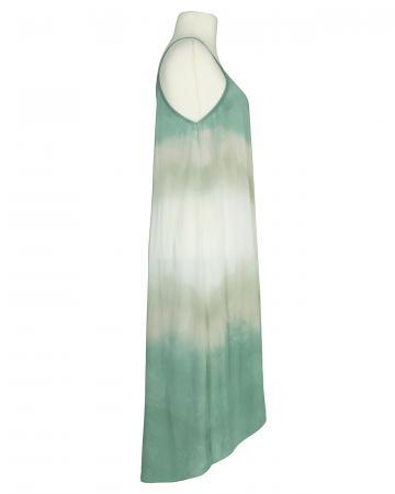 Trägerkleid, oliv multicolor