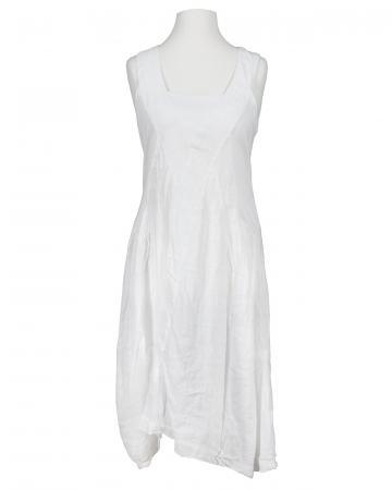 Kleid aus Leinen, weiss