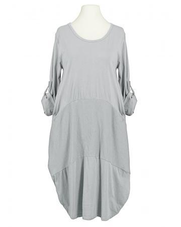 Kleid Ballonschnitt, hellgrau (Bild 1)