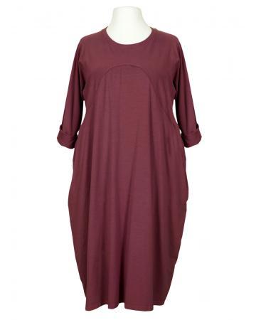 Kleid Baumwolljersey, bordeaux