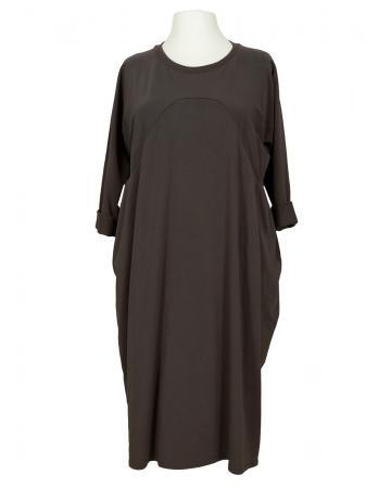 Kleid Baumwolljersey, braun