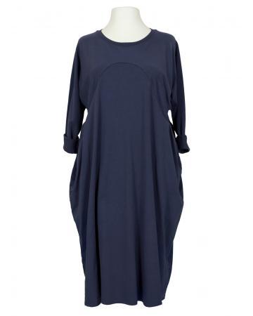 Kleid Baumwolljersey, dunkelblau