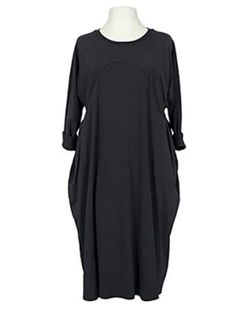 Kleid Baumwolljersey, schwarz