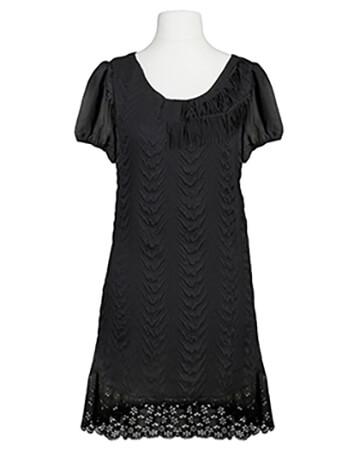 Kleid Chiffon, schwarz