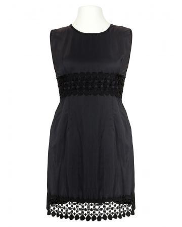 Kleid Häkelspitze, schwarz