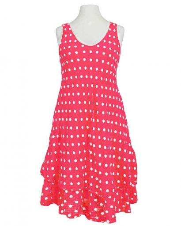 Kleid im Lagenlook, rot