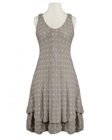 Kleid im Lagenlook, schlamm
