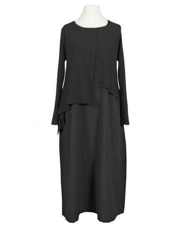 Kleid im Lagenlook, schwarz