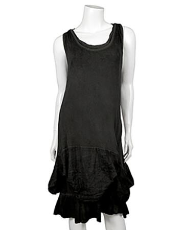 Kleid Lagenlook, schwarz (Bild 1)