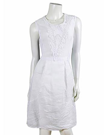 Kleid Häkelspitze, weiss (Bild 1)